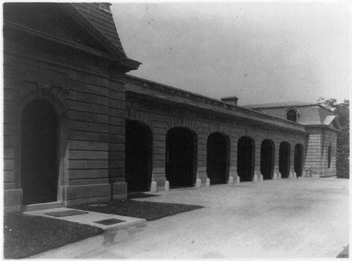 Photo: Alexander Hamilton Rice home,garage doors,Newport,Rhode - Newport In Shopping Ri