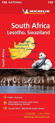 South Africa- Michelin National Map 748 2018 (michelin national maps) by Michelin Editions des Voyages