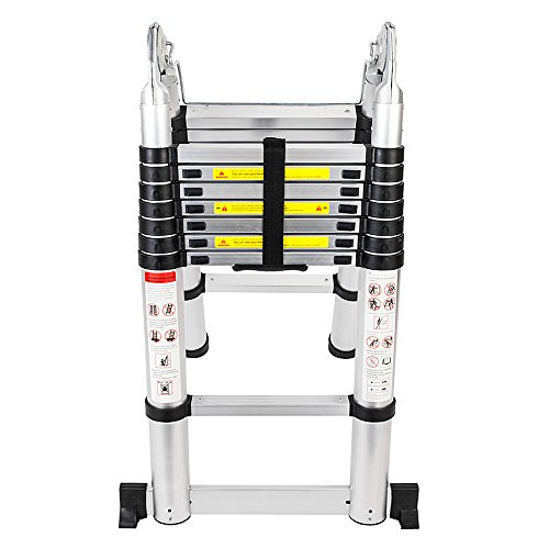 Senrob Aluminum Telescopic Extension Ladder