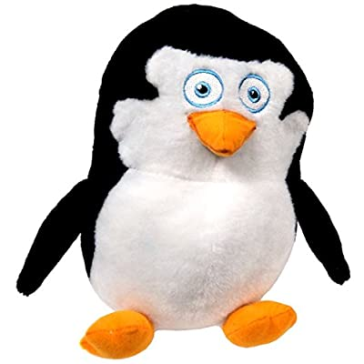 "The Penguins of Madagascar Baby Skipper 9"" Plush (Toy Factory): Toys & Games"