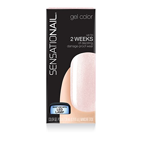 Sensationail Color Gel Polish Pink Champagne 71690 0.25 Fl.