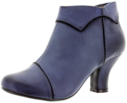 Banned Ankle Boots Ruth BND050 Blue - Blue