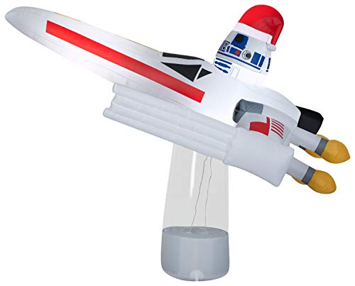 Airblown Star Wars R2-D2 in X-Wing Fighter Gemmy Inflatable Yard Decoration -