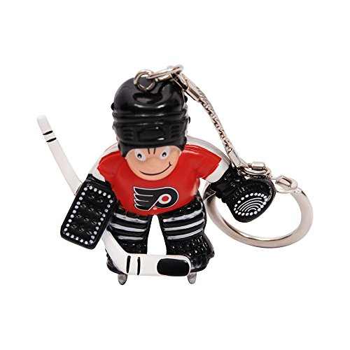 NHL Philadelphia Flyers Goalie Keychain