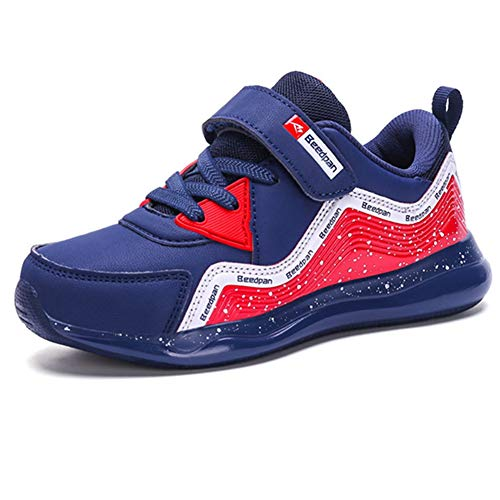 fdc6be67 LGXH Boys Girl Tennis Walking Running Sneakers Lightweight Mesh Kids  Slip-On Athletic Gym Jogging