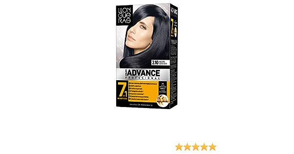 Tinte LLongueras Color Advance 2/1 Negro Azulado: Amazon.es ...
