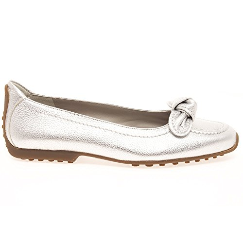 Slip Schmenger Pump Silver Detail Und Kennel Bow Women's Flat On 5 XAqnB