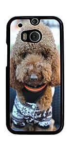 Cute Dog Hard Case for HTC ONE M8 ( Sugar Skull )