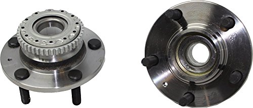 Detroit Axle - Brand New (Both) Rear Wheel Hub and Bearing Assembly 2004 2005 2006 2007 2008 Hyundai Tiburon 5 Lug with ABS Brakes