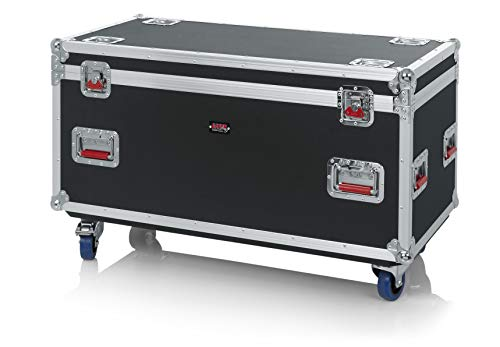 Gator Cases G-TOUR Series Equipment Storage Case / Cable Trunk with Heavy Duty Casters, Truck Pack Size; 45