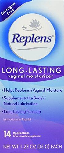 Replens Replens Long Lasting Vaginal Moisturizer, 14 applications 1.23 oz (Pack of 2)