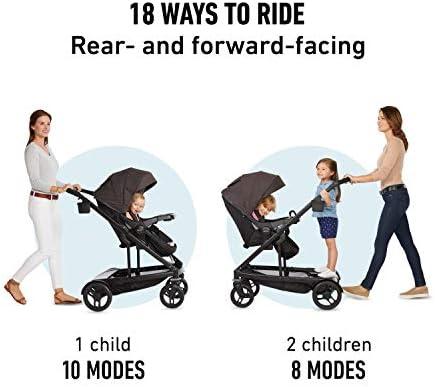 Graco Uno2Duo Second Stroller Seat hazel  Fashion