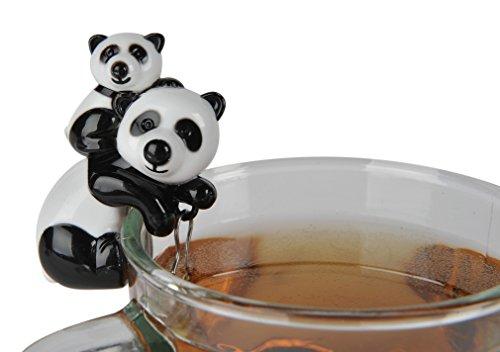 Sevy Panda & Cub Tea Infuser - Panda Cubs