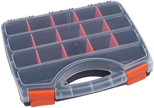 Timagebreze B - 320ポータブル部品ボックスネジ収納ボックス金属部品ハードウェアドライバー車両修理ハンドツール