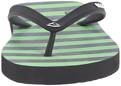 Reef Grom Switchfoot Prints, Sandalias Flip-Flop para Niños Varios colores (Green / Black)