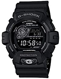 Men's GR8900A-1 G-Shock Tough Solar Digital Black Resin...