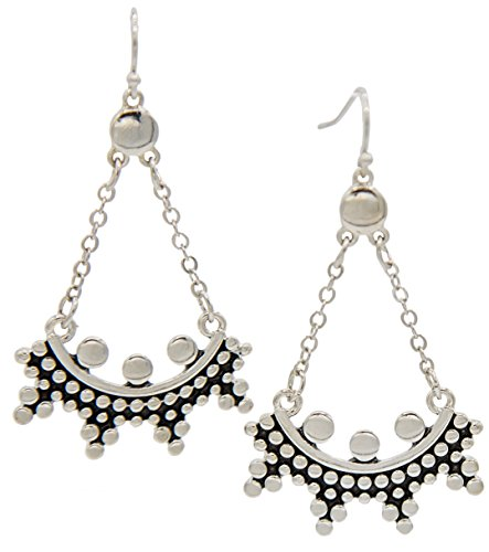 Chandelier Earrings Silver SPUNKYsoul Collection