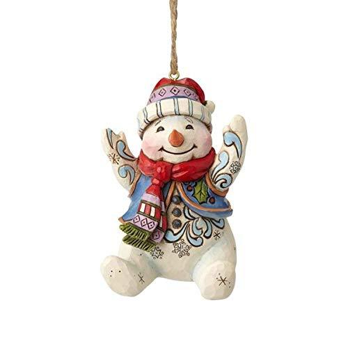 Enesco Jim Shore Heartwood Creek 6001513 Sitting Snowman ()