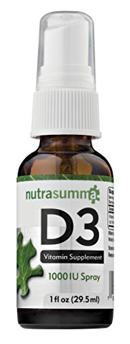 Vitamin D3 Spray (Nutrasumma Vitamin D-3 (Spray Delivery) - 1 oz)