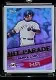 2007 Topps #HP1 Barry Bonds Hit Parade San Francisco Giants Baseball Card