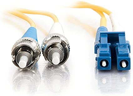 6 Meter, Yellow C2G//Cables to Go 37461 LC//LC Duplex 9//125 Single-Mode Fiber Patch Cable