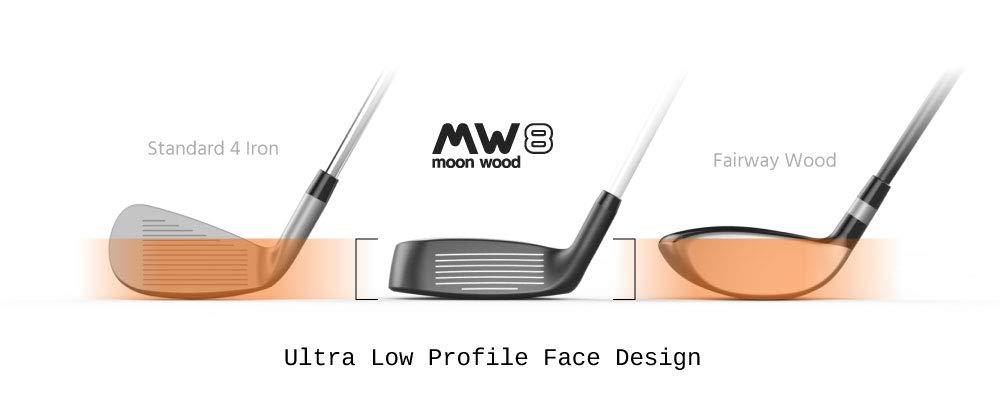 MW8 Moon Wood - Palo de Golf para Hombre y Mujer, Incluye ...