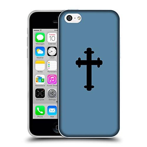 GoGoMobile Coque de Protection TPU Silicone Case pour // Q08410600 Religion 5 Aviation Bleu // Apple iPhone 5C