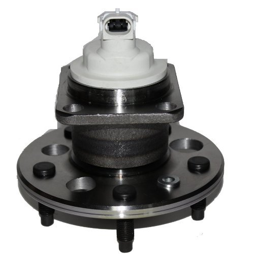 Detroit Axle - Brand New Rear Wheel Hub and Bearing Assembly for Chevy Classic Malibu, Alero Grand Am 5 Lug W/ABS 512152 ()