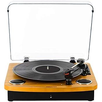 Amazon.com: Reproductor de grabación, tocadiscos de vinilo ...
