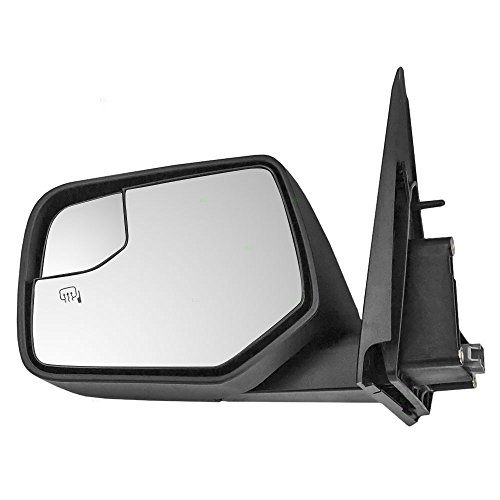 Drivers Power Side View Mirror Heated w/Spotter Glass Replacement for Ford Escape Mercury Mariner & Hybrid AL8Z17683DAPTM