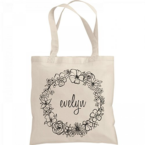 Cute Floral Evelyn Tote Bag: Liberty Bargain Tote (Evelyn Tote)