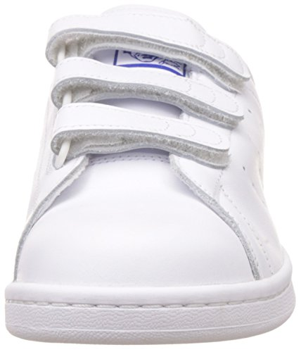 adidas Stan Smith CF, Scarpe da Fitness Uomo Bianco (Footwear White/Footwear White/Collegiate Royal)
