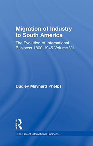 Migration Indust Sth Americ V7 (The Rise of International Business) (Volume 7)