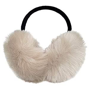 Earmuffs Ear Warmers For Women Winter Fur Foldable Ear Warmer
