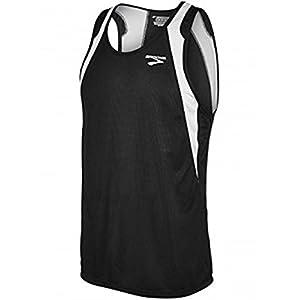 Brooks Athletic Sprinters Sleeveless Top - Black/White - Medium