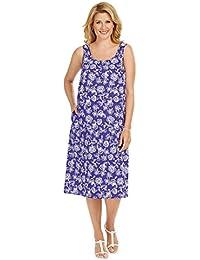 Sleeveless One Button Dress