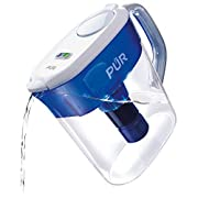 PUR PPT111W 11Cup Water Filtration Pitcher with LEAD Reduction Filter