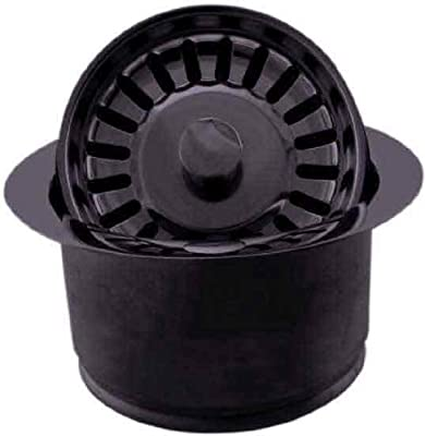 Westbrass D2082S-12 Extra Deep In-Sink-Erator Disposal Flange and Strainer, Oil Rubbed Bronze