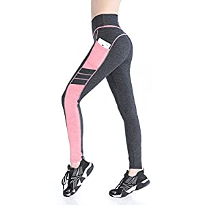EAST HONG Women's Yoga Leggings Exercise Workout Pants Gym Tights