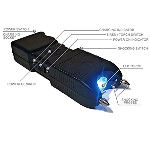 Terminator-SGTA-240000000-Stun-Gun-Super-Powerful-Bright-Durable-Flashlight-Rechargeable-Stun-Gun-with-Siren