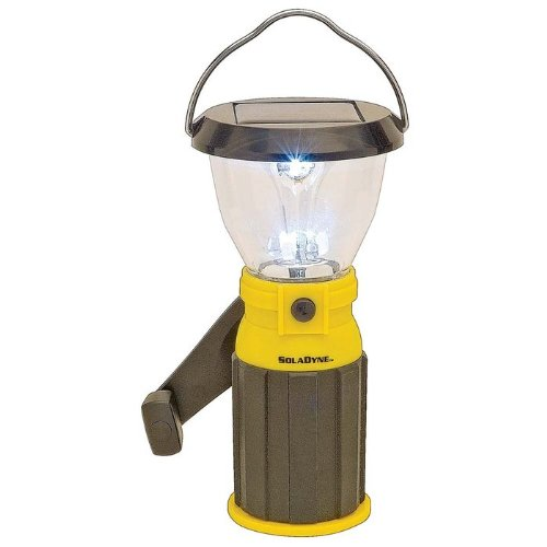 Athena Brands Soladyne 7-Inch Mini Solar Lantern, Outdoor Stuffs