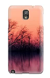 For QkMQmiY4602pupVG Sunset Protective Case Cover Skin/galaxy Note 3 Case Cover