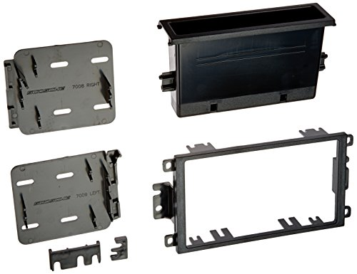 General Motors Radio - SCOSCHE GMT2049A 1992-Up General Motors Stereo Install Dash Kit