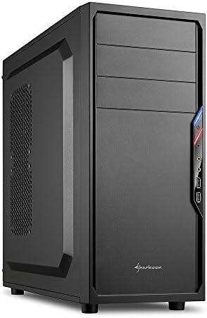 Sharkoon VS4-V - Caja de Ordenador, PC Gaming, Semitorre ATX, Negro: Sharkoon: Amazon.es: Informática