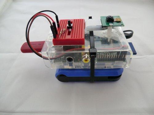 SloMoPi 90fps Portable Camcorder GPIO Project Kit for Raspberry Pi