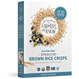 One Degree Cereal Rice Crisp Brown, 8 oz