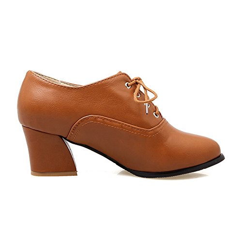 Chaussures BalaMasa rouge bordeaux femme FaAwuSy