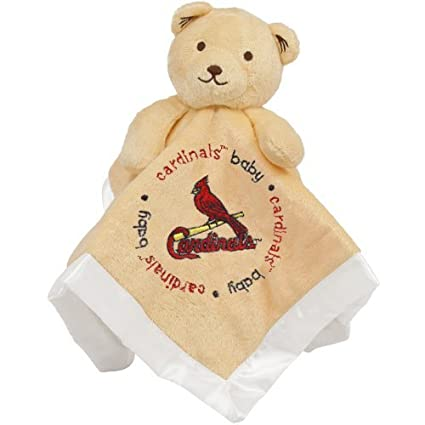 outlet store e7b52 80399 Baby Fanatic St. Louis Cardinals Security Bear Blanket, 14 x 14-Inch