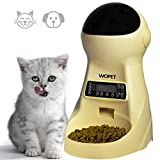 Wopet Automatic Pet Feeder Dog and Cat Feeder Food Dispenser with Timer Programmable