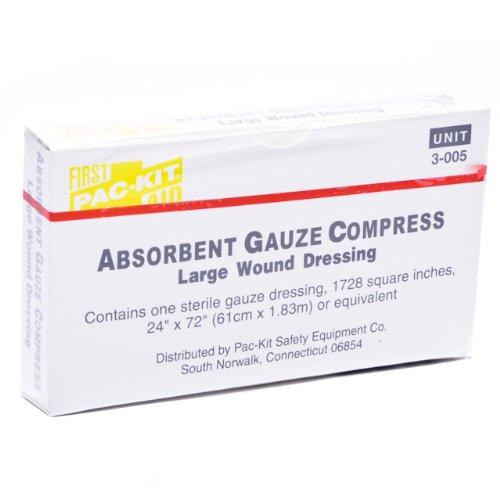 Unitized Kit Refill Gauze Bandage Compress 24'' X (Unitized Kit Refill)